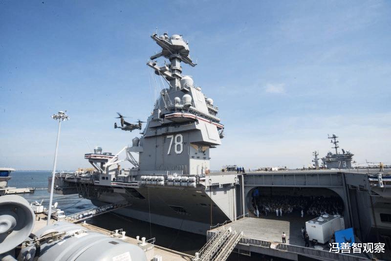 10万吨核航母服役3年不能部署,负责人惨遭辞退,美海军原地踏步