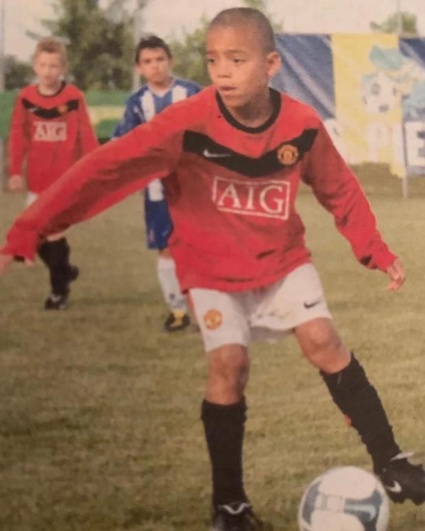 深度:曼联18岁未来之星成长之路,格林伍德4岁就是模特冠军
