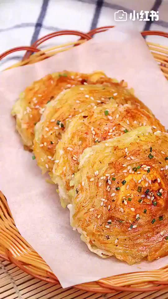 土豆丝新吃法,香味四溢,早餐不将就,美食get√