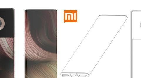 小米手机新款设计专利曝光,环绕屏+双屏+单镜头,颜值不输友商