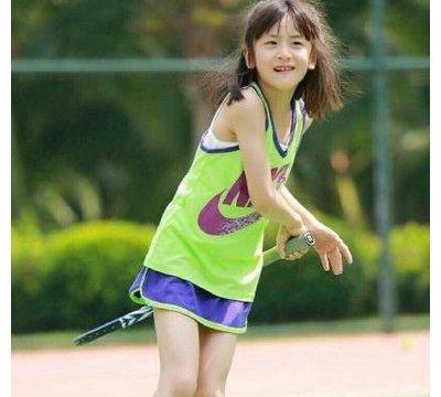 森碟近况曝光,疑将开启职业网球之路,没有继承父亲田亮跳水