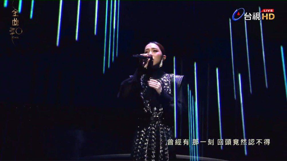 邓紫棋 第30届金曲奖串烧表演 今天是邓紫棋出道第12周年……