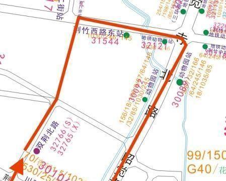 7月13日起成都再开4条地铁接驳公交线路 来看看有你家附近没