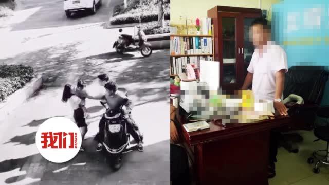自媒体工作人员为流量自导自演抢小孩视频