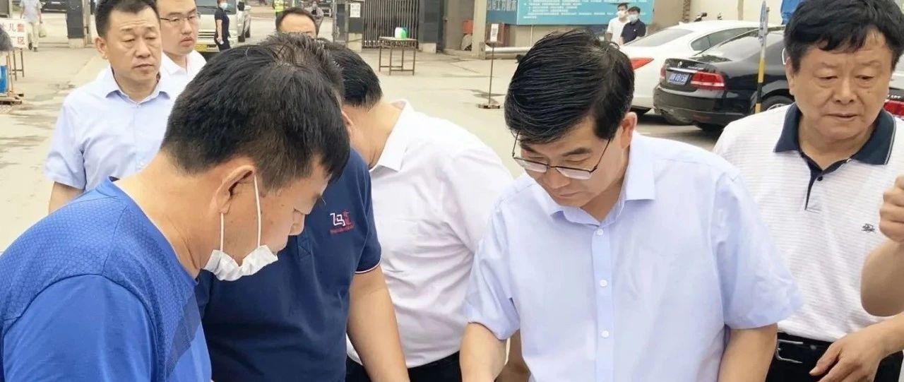 德州市委书记李猛、市长杨洪涛等市领导一线督导《问政山东》反映问题整改工作