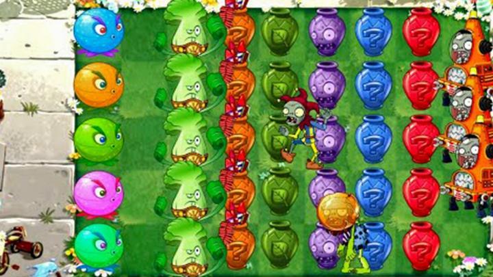 植物大战僵尸2:七彩充能柚子真好看