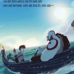 《战神》推出童书,小朋友可以通过奎爷的故事来学习ABC了