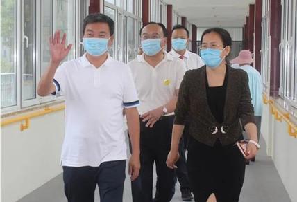 枣庄市妇幼保健院于春梅院长一行莅临泰山医养中心参观考察