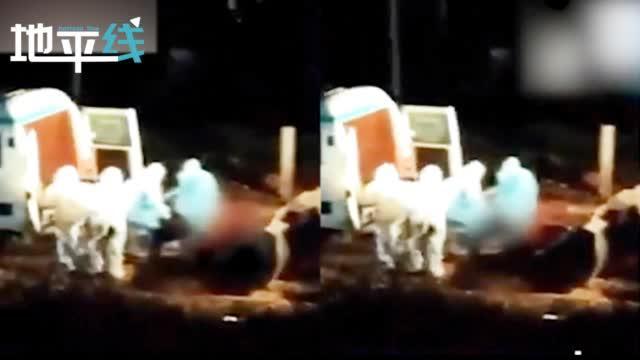 惊!印度再现深夜借助挖掘机抛尸 尸体被直接扔进挖斗画面曝光