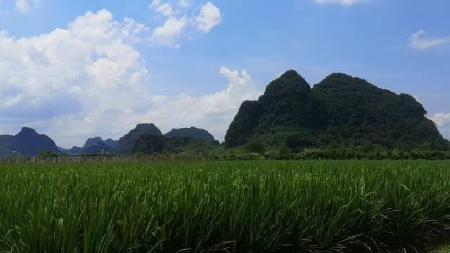 广东省清远市下面的一个景区,就像画在画上面一样……
