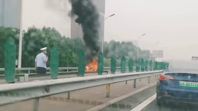7月11日,北京市北五环内环主路,广顺桥南,北向南方向……