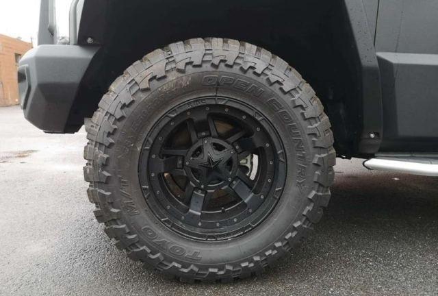 """正宗""""大块头"""",车长近6米,配20英寸轮毂"""