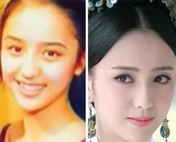 娱乐圈纯天然的明星,神仙姐姐刘亦菲,颜值都是非常高的