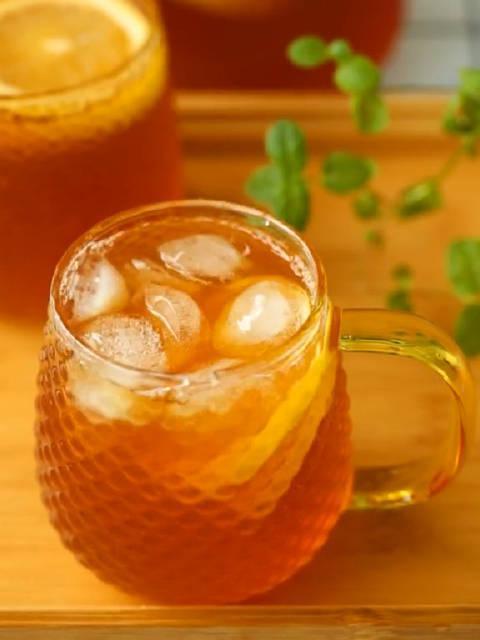 自制柠檬冰红茶做法