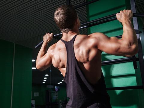 想要引体向上出效果,这些热身动作不容错过,让你的背部泵感更强