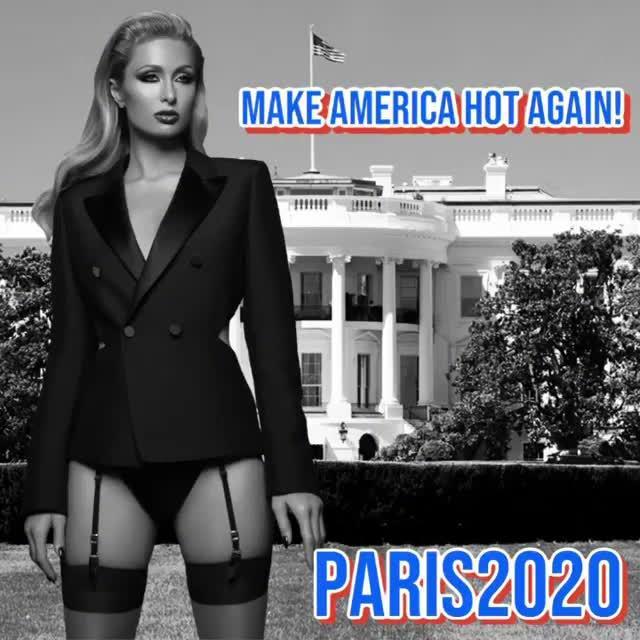 帕里斯希尔顿宣布竞选美国总统 竞选宣言:让美国再辣一次!