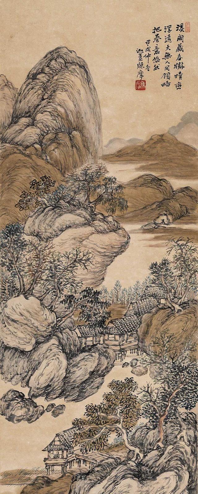 著名画家陈摩绘画作品欣赏