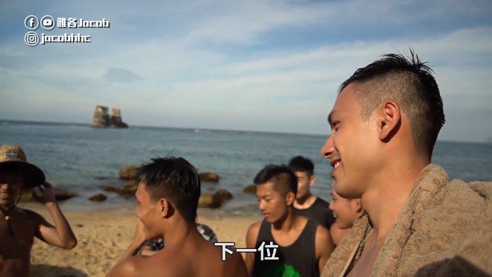 夏天玩水再游金山神秘密海滩,人少水干净肌肉男多VLOG21