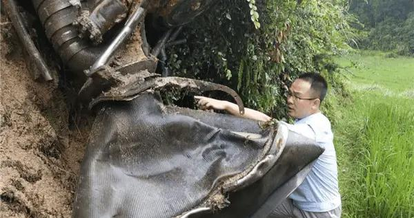 长征三号乙运载火箭残骸在贵州、湖南现身
