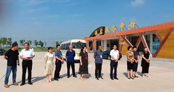郭玉珍带队对河口区文化和旅游融合发展情况进行调查