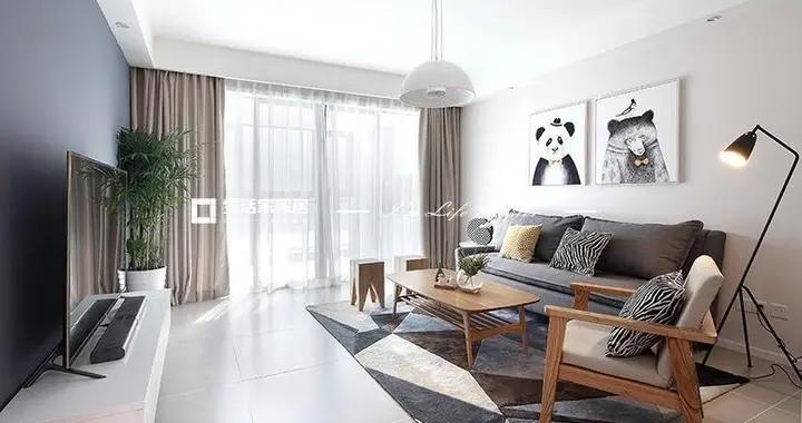 北欧风格三居室如何装修,101平米的房子这样装才阔气!-美林海岸花园装修