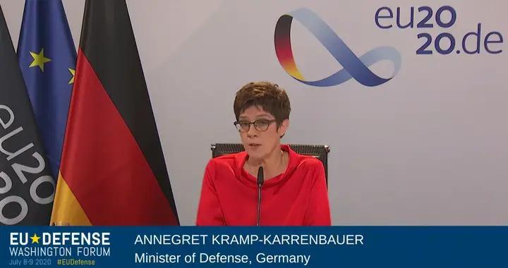 德国国防部长:一些西方政客猛批中国只是自嗨,德国不会这样