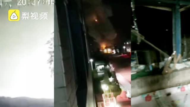 辽宁阜新一污水处理厂爆炸,周边民房玻璃被震裂,2人受轻伤