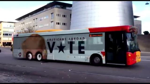 行驶后自带特效的公交车,太有创意了!