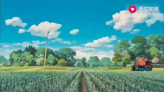 我能想到夏天最美好的形容,就是宫崎骏的夏天,连风都是温柔的……
