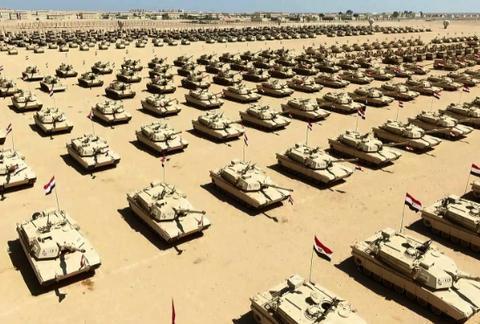 埃及军方演习向埃尔多安传达信息,准备与土耳其对决