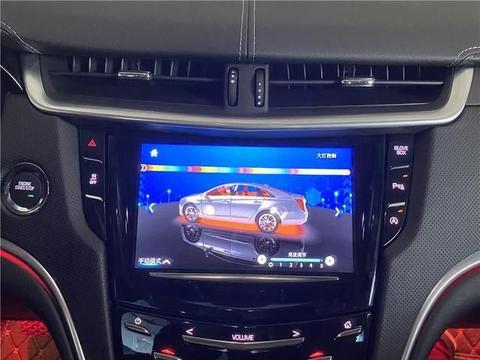 苏州凯迪拉克XTS改专用64色氛围灯 中控控制氛围灯变色 晓东酷改