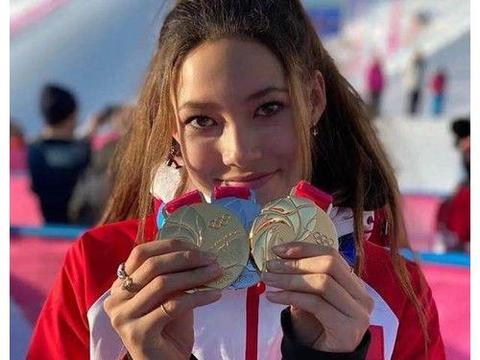 美国女孩加入中国国籍,22天夺得3金1银,将为中国征战冬奥会