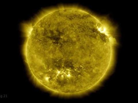 4.25亿张高分辨率图像,一小时看完太阳十年延时视频