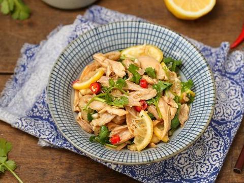 鸡腿拌着吃,嫩滑鲜美热量低,只要加入这食材,去腥提鲜又开胃!