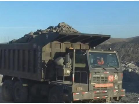 矿山专用重型卡车