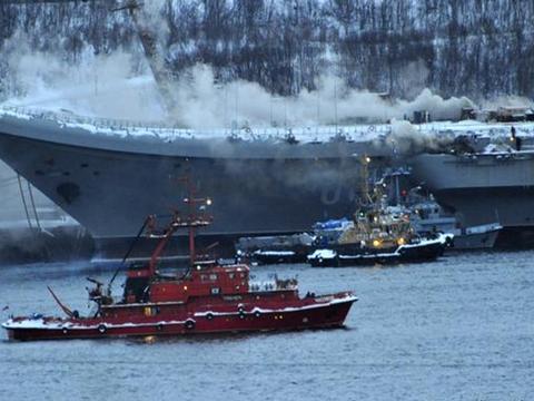 俄罗斯造船厂拍胸脯保证:库兹涅佐夫航母绝不会冒烟,2022年交付
