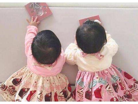 同样是双胞胎女儿,看看谢娜家的,再看看熊黛林家的,差距太大了