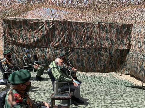 印度军方又向西方采购:千顶顶级御寒帐篷,誓言长期部署拉达克