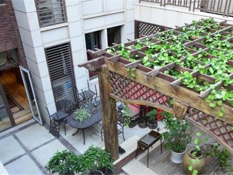 庭院设计成这 样,私密性强比传统的美上百倍,我家的已做上