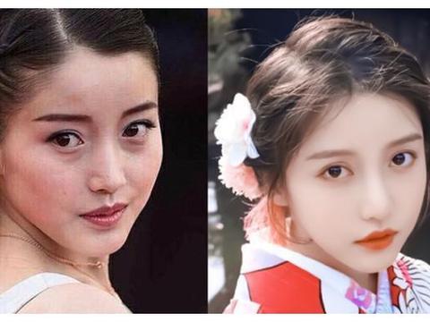 女星旧照,姜贞羽老气,虞书欣没变化,看到王艺瑾:没认出来