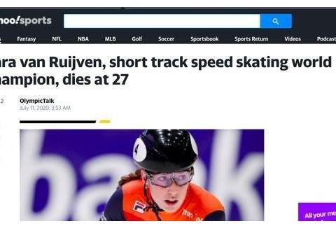 噩耗!27岁短道速滑世界冠军去世,世锦赛战胜范可新,大杨扬哀悼