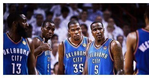 12年NBA总决赛:杜兰特23岁,威少23岁,哈登22岁,伊巴卡22岁