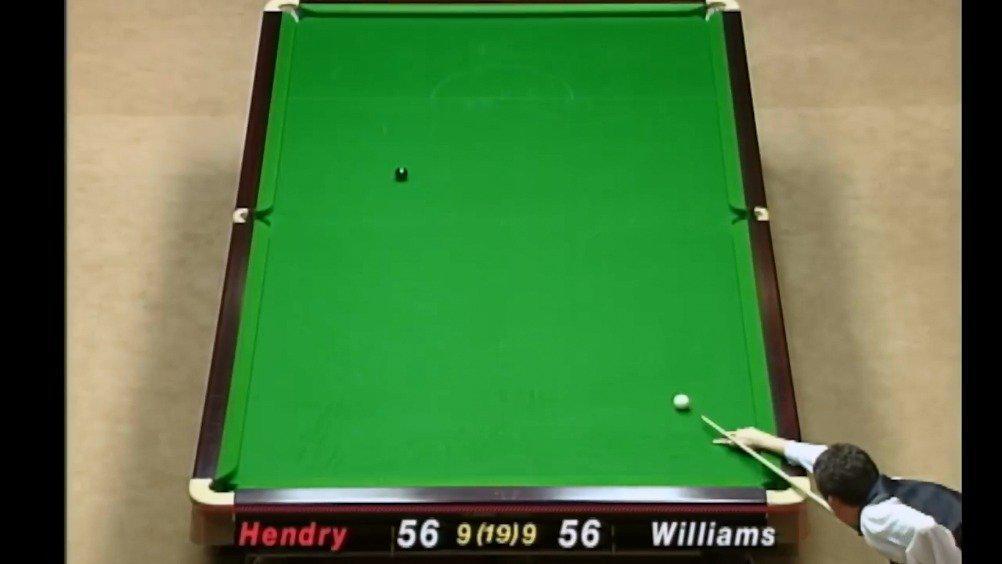 威廉姆斯回忆1998年大师赛决赛和亨德利的残酷决战……