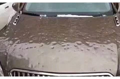 一场冰雹将奥迪车砸成了刺猬,车主看了之后却乐了:这车升值了