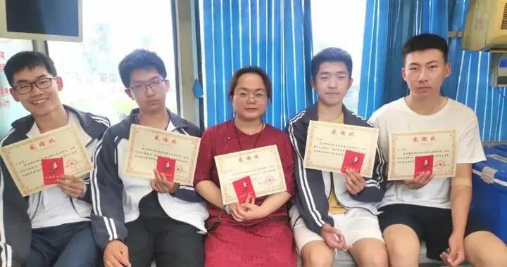 高考过后,我们献血去!潍坊一中高三师生高考结束直奔采血车