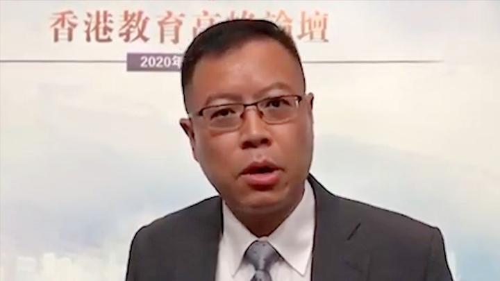 """香港民间团体""""救救孩子""""发起人:学校推行国民教育其实非常简单"""