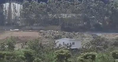 福建龙岩一小区附近发出巨响浓烟滚滚 疑化工厂爆炸