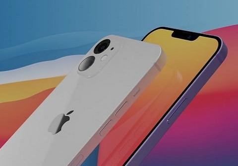 iPhone 12普通版再曝全新渲染图,小刘海7种配色,还有超窄边框