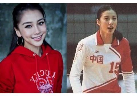 女排第一美女神似杨颖,曾夺奥运铜牌,二婚嫁给美国人