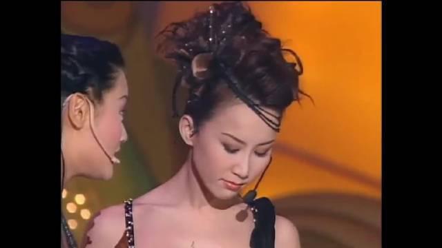 2001年coco李玟以盛世美颜在港姐总决赛表演